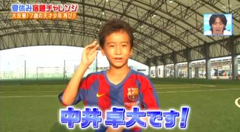 中井卓大選手のプロフィール