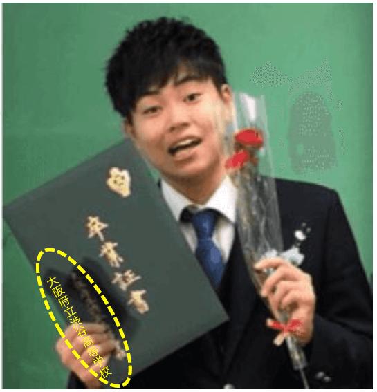 菅生新樹は大阪府立渋谷高等学校を卒業