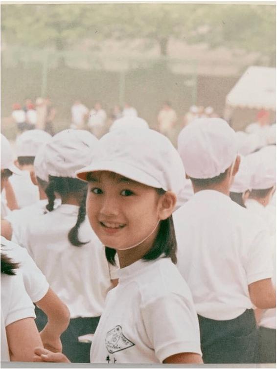 井上清華アナは小学校時代