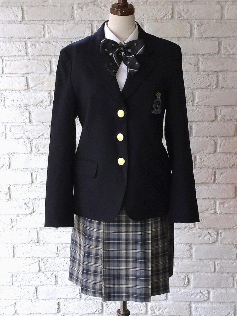 チェックその②:『日本体育大学付属二階堂高校』の制服は可愛い?
