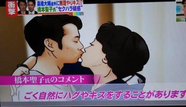 橋本聖子の「キス強要」に対する良い訳は?