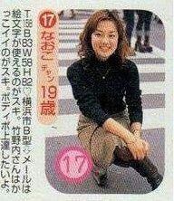 鈴木奈穂子アナ19歳