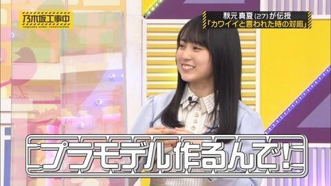 賀喜遥香(かきはるか)と小島健の匂わせその③:『プラモデル』