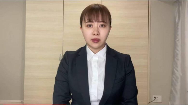 エミリンの謝罪動画