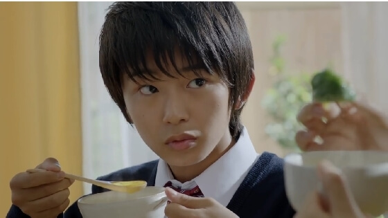 2015年13歳:味の素CM『クノールカップスープ』