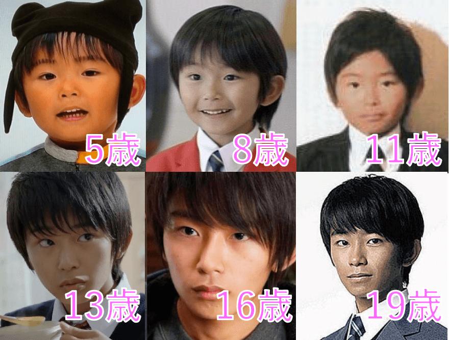 加藤清史郎の顔の変化を子役時代から現在まで時系列で比較
