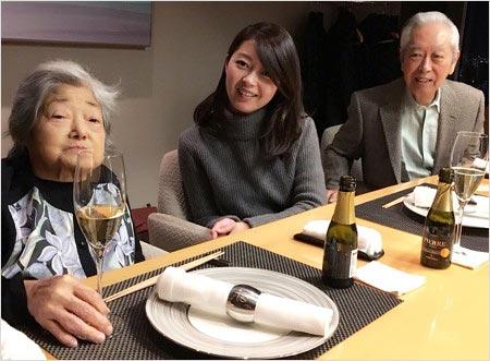 山下智久の母型の祖父母