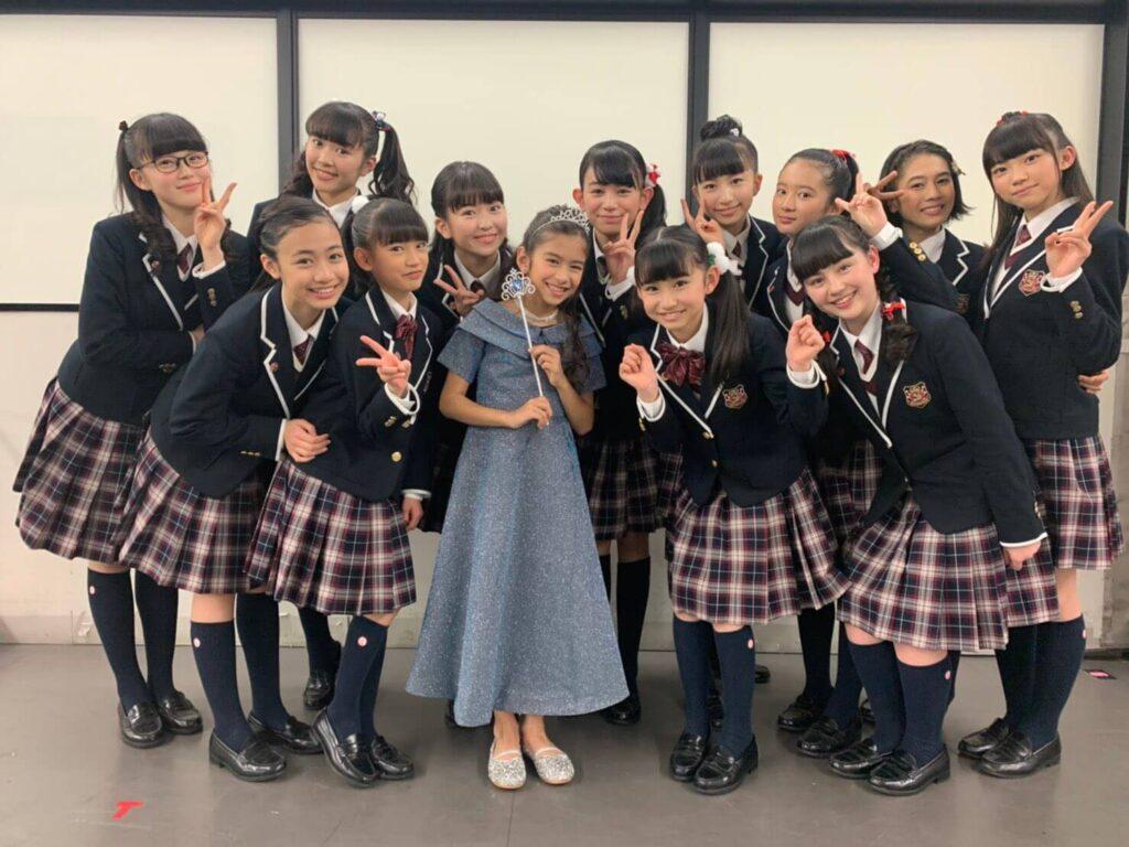 ナオミ出演:2019年12月:『さくら学院』クリスマスイベント