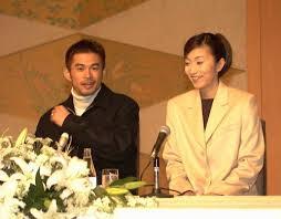 イチローと弓子夫人