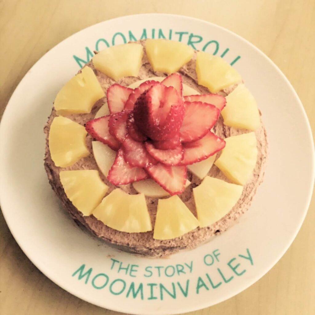 清原果耶が姉のために作ったケーキ