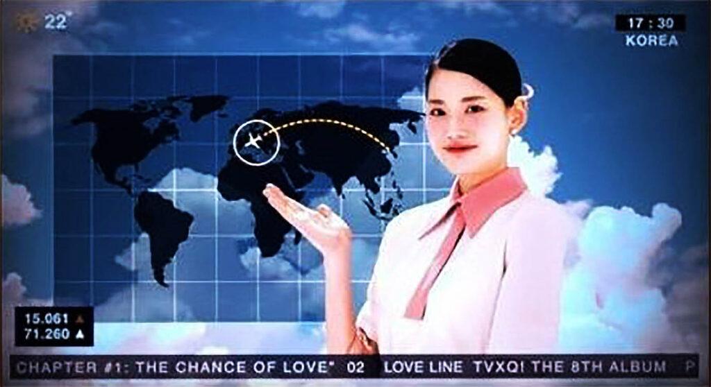 東方神起『Love Line』でも日本列島は無かった