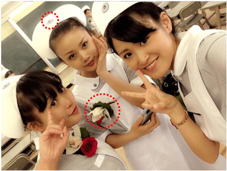 長野じゅりあの専門学校卒業式