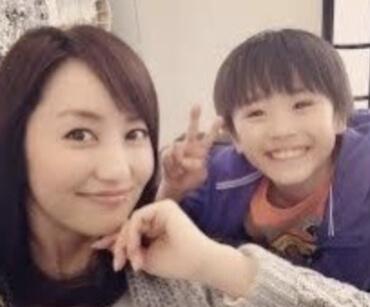 矢田亜希子の息子