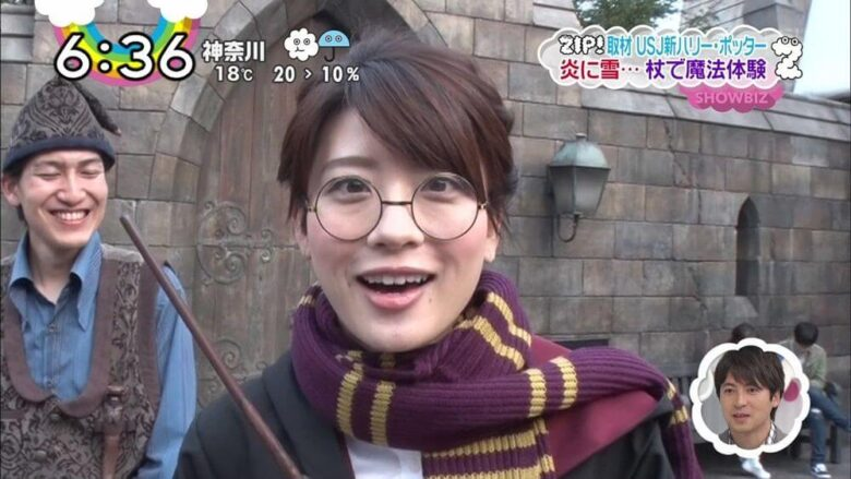 郡司恭子アナの寄り目は斜視?