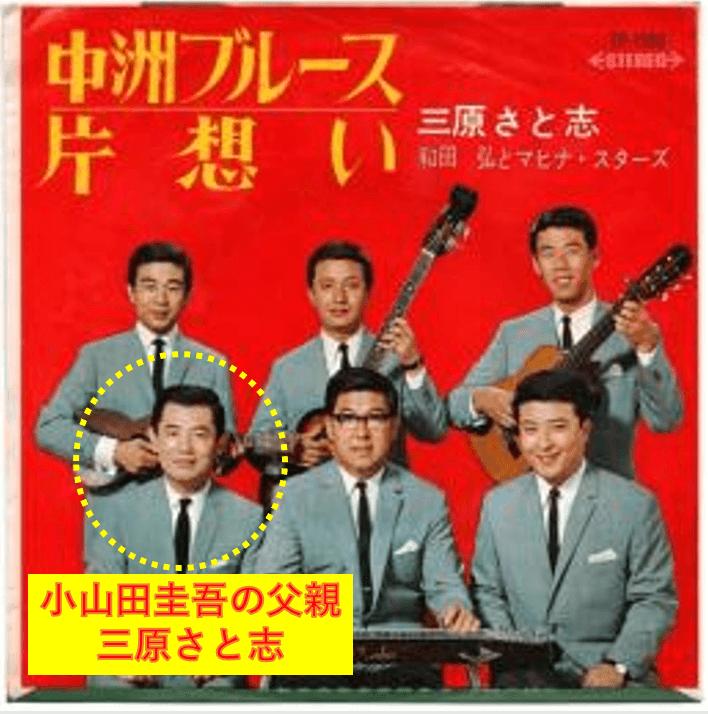 小山田圭吾の父親‖三原さと志(小山田晃)