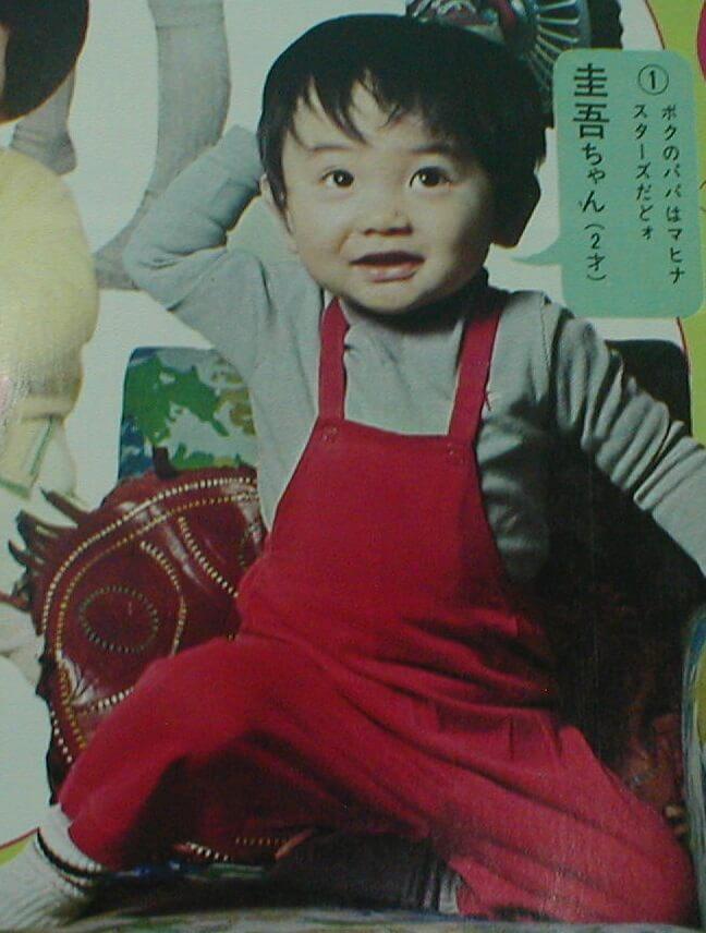 小山田圭吾の幼少期:父親はスター